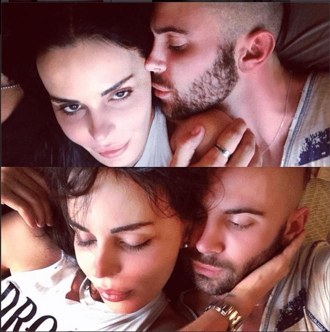 Nina Moric ritrova l'amore, su Instagram le foto del misterioso nuovo fidanzato