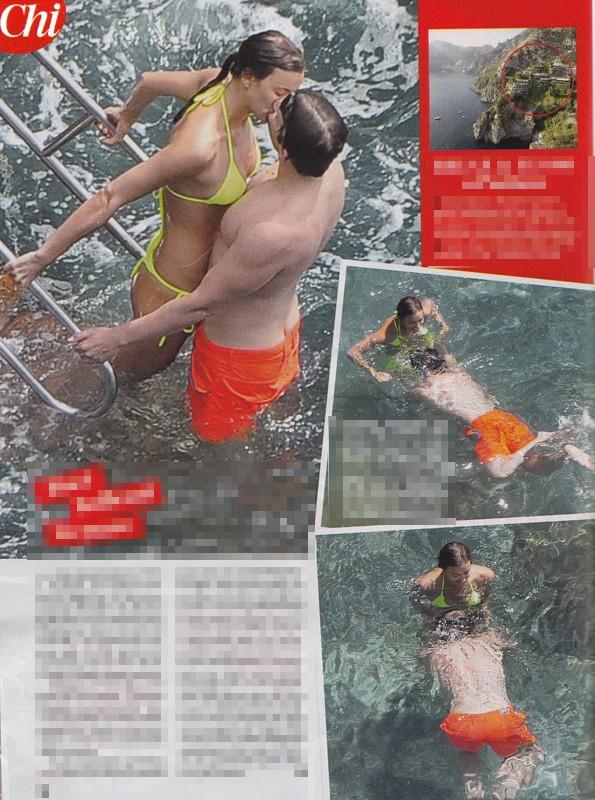 Irina Shayk e Bradley Cooper, baci e tenerezze a Positano per la nuova coppia